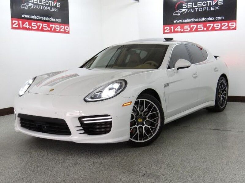 2016 Porsche Panamera Turbo RWD, NAV, HEATED/COOLED FRONT SEATS, SUNROOF