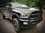 2016 RAM 2500 CREW CAB 4X4 LARAMIE BLACK ON BLACK EDITION