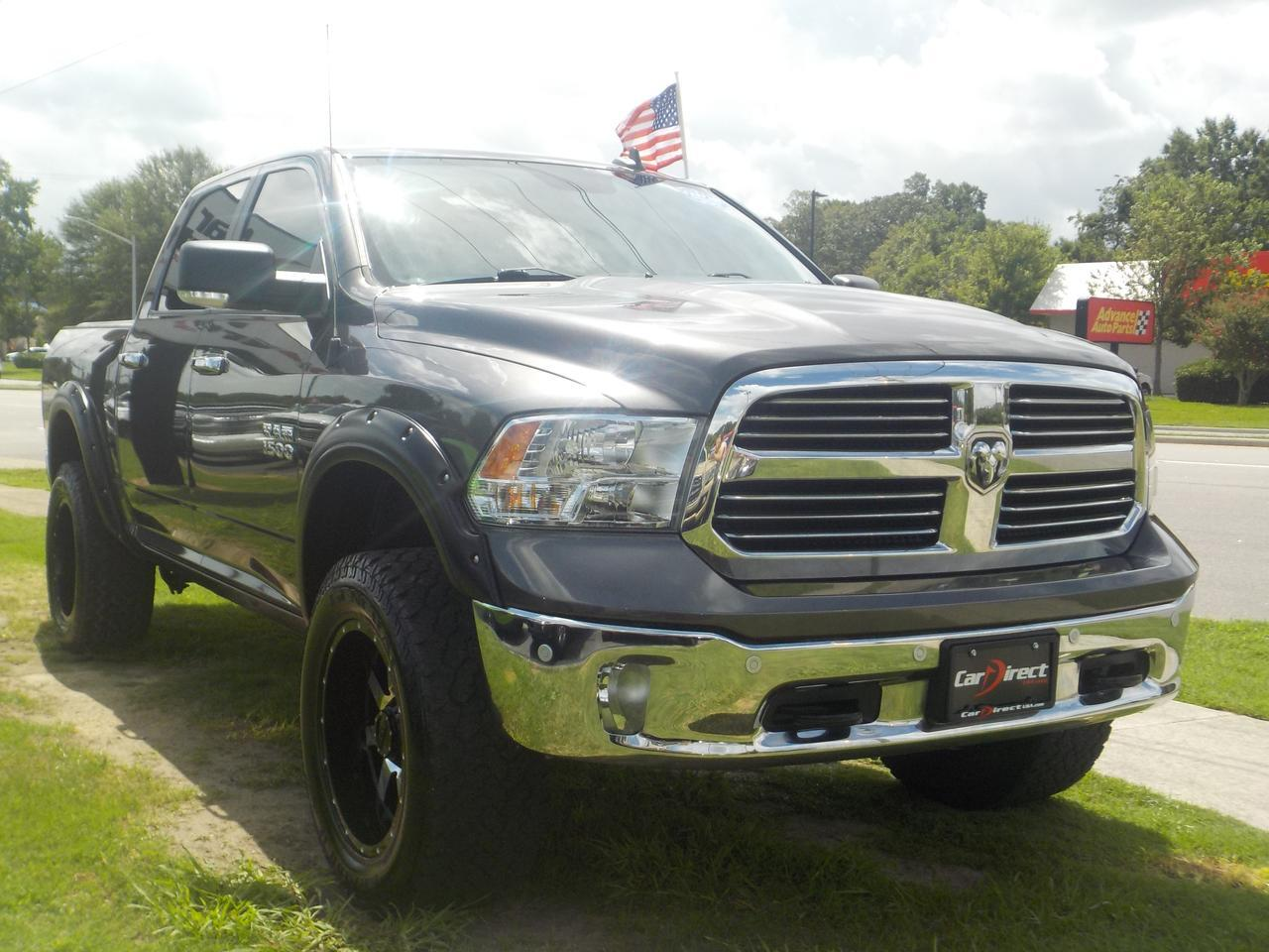 2016 RAM 1500 BIGHORN CREW CAB 4X4, NAV, HEATED SEATS, BLUETOOTH, TOW PKG, REMOTE START, CLEAN CARFAX, LOW MILES! Virginia Beach VA