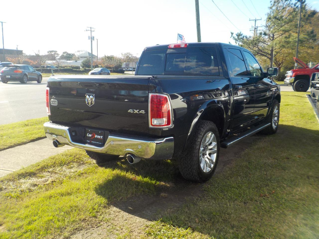 2016 RAM 1500 CREW CAB LARAMIE LONGHORN 4X4, 3.0L ECO DIESEL, LEATHER, NAVIGATION, REMOTE START, BACK UP CAMERA! Virginia Beach VA