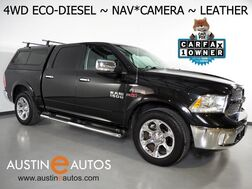 2016_Ram_1500 4WD Crew Cab Laramie_*3.0L V6 ECO-DIESEL, NAVIGATION, BACKUP-CAMERA, TOUCH SCREEN, LEATHER, CLIMATE SEATS, HEATED STEERING WHEEL, ALPINE AUDIO, BLUETOOTH_ Round Rock TX