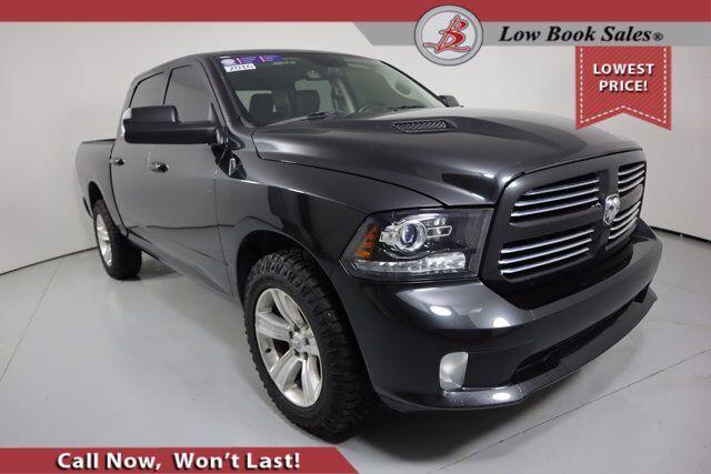 2016 Ram 1500 CREW CAB 4X4 SPORT HEMI Salt Lake City UT