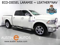 2016_Ram_1500 Crew Cab Laramie_*ECO-DIESEL, NAVIGATION, BACKUP-CAMERA, LEATHER, CLIMATE SEATS, ALPINE AUDIO, KEYLESS START, BLUETOOTH_ Round Rock TX