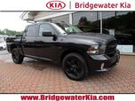 2016 Ram 1500 Express 4WD Crew Cab, Remote Keyless Entry, Rear-View Camera, Touch-Screen Audio Display, Media Hub, Bluetooth Technology, Split Folding Rear Seats, 5.7L V8 HEMI Engine, 20-Inch Alloy Wheels,