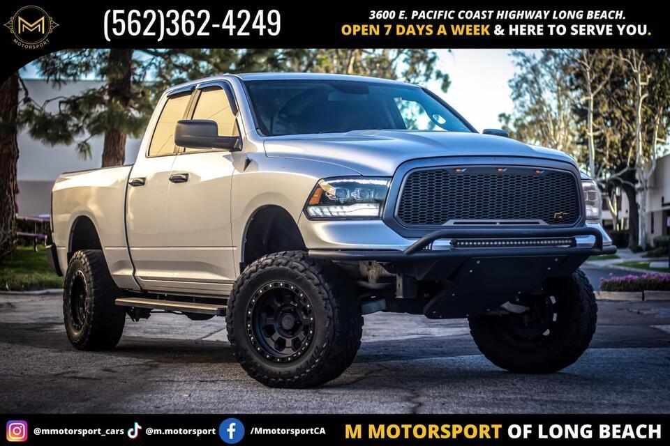 2016_Ram_1500 Quad Cab_SLT Pickup 4D 6 1/3 ft_ Long Beach CA