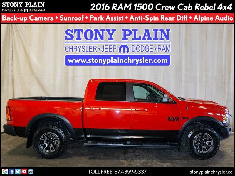 2016 Ram 1500 Rebel Stony Plain AB