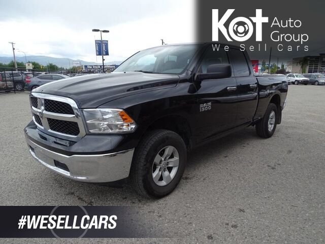 2016 Ram 1500 SLT 3.6L V6 4X4 Extra Set of Winter Tires, Back-up Camera Kelowna BC