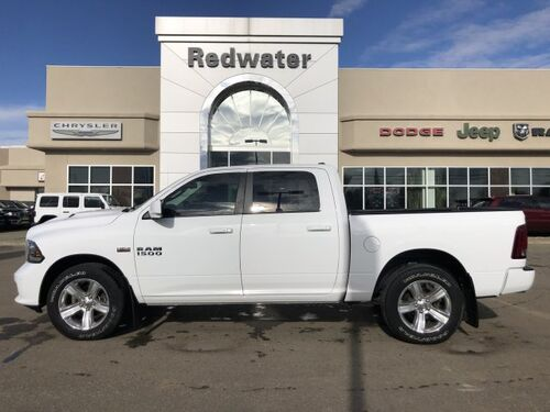 2016_Ram_1500_Sport - Sunroof - Low Km's - Sport Performance Hood_ Redwater AB