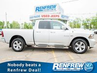 Ram 1500 Sport Quad Cab 4x4, Heated Seats, Bluetooth, Backup Camera, Siri 2016