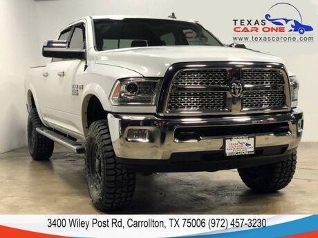 2016 Ram 2500 LARAMIE CREW CAB 4WD 6.4L HEMI NAVIGATION SUNROOF LEATHER KEYLESS GO REAR CAMERA Carrollton TX