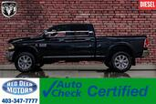 2016 Ram 3500 4x4 Crew Cab Limited Diesel Leather Roof Nav