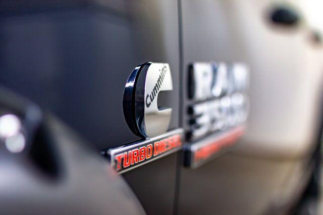 2016 Ram 3500 4x4 Crew Cab SLT Diesel Level Kit Red Deer AB