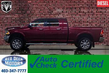 2016_Ram_3500_4x4 Mega Cab Longhorn Diesel Leather Roof Nav_ Red Deer AB