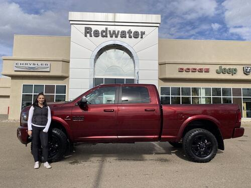 2016_Ram_3500_Laramie Crew Cab 4x4 - Cummins Diesel - Only 58,885kms - AISIN Trans - Sport Appearance Package_ Redwater AB