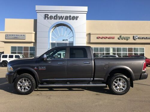 2016_Ram_3500_Longhorn Limited - Heated Steering Wheel, Remote Proximity Keyless Entry_ Redwater AB