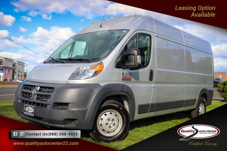 2016 Ram ProMaster Cargo Van 2500 High Roof 159 Cargo Springfield NJ