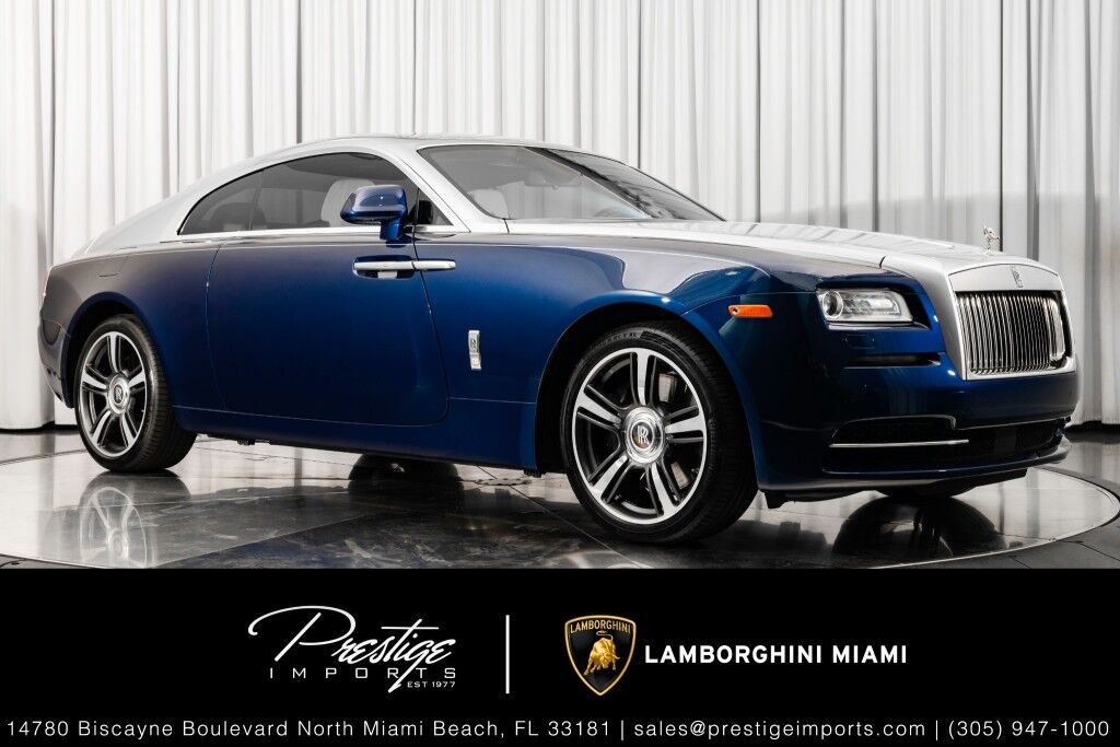 2016_Rolls-Royce_Wraith__ North Miami Beach FL
