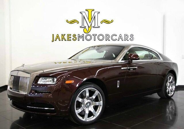 2016 Rolls-Royce Wraith ~$358,550 MSRP!~ STARLIGHT ~ CANADEL WOOD