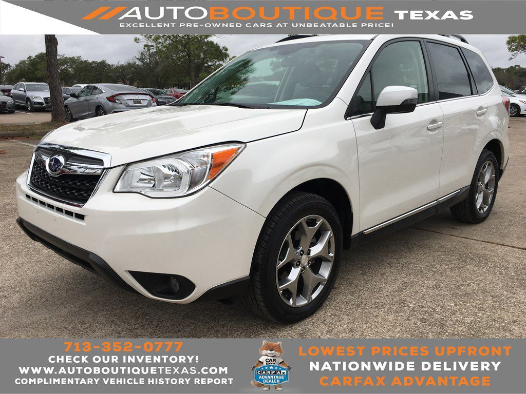 2016 SUBARU FORESTER I TOUR I TOURING Houston TX