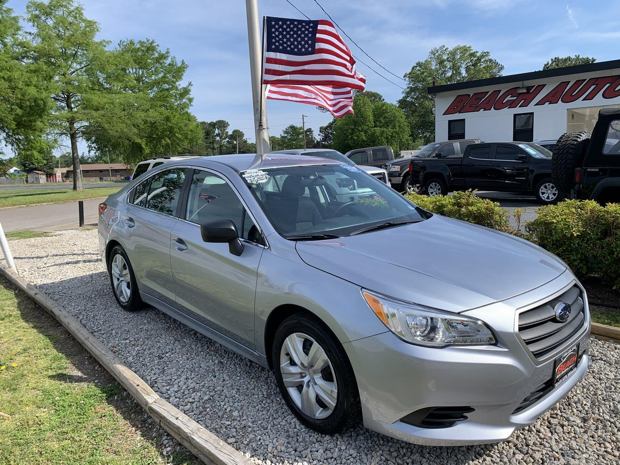 2016 SUBARU LEGACY I, WARRANTY, BACKUP CAMERA, BLUETOOTH, AUX/USB PORT, LOW MILES, CLEAN! Norfolk VA