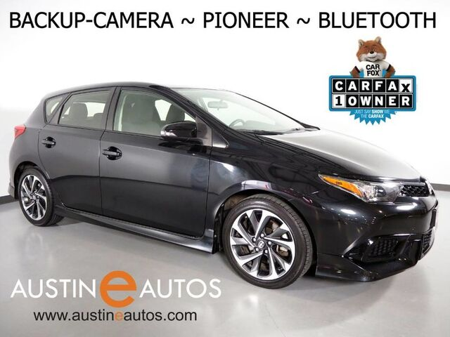 2016 Scion iM *AUTOMATIC, BACKUP-CAMERA, TOUCH SCREEN, PIONEER AUDIO, STEERING WHEEL CONTROLS, ALLOY WHEELS, BLUETOOTH PHONE & AUDIO Round Rock TX