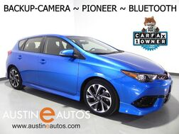 2016_Scion_iM_*AUTOMATIC, BACKUP-CAMERA, TOUCH SCREEN, PIONEER AUDIO, STEERING WHEEL CONTROLS, ALLOY WHEELS, BLUETOOTH PHONE & AUDIO_ Round Rock TX