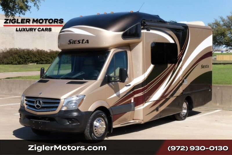 2016 Sprinter Sprinter Motor Home Class-C **FREE SHIPPING** THOR SIESTA MOTOR COACH 24FT ONE OWNER REDUCED PRICED GREAT VALUE Addison TX