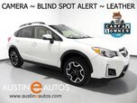 2016 Subaru Crosstrek Limited AWD *BACKUP-CAMERA, BLIND SPOT ALERT, TOUCH SCREEN, LEATHER, HEATED SEATS, BLUETOOTH PHONE & AUDIO