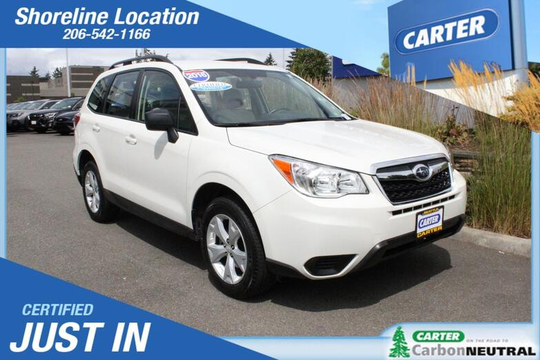 2016 Subaru Forester 2.5i Seattle WA