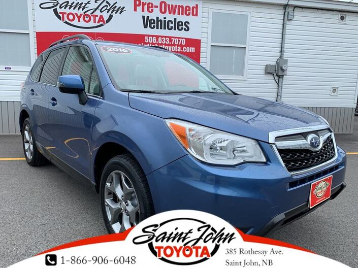 2016 Subaru Forester 2.5i Touring Package w/Technology Pkg Option Saint John NB
