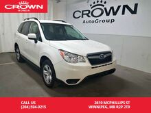 2016_Subaru_Forester_2.5i/ accident-free history/ low kms/back up cam/ heated seats_ Winnipeg MB