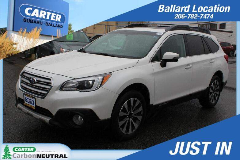 2016 Subaru Outback 2.5i Limited Seattle WA