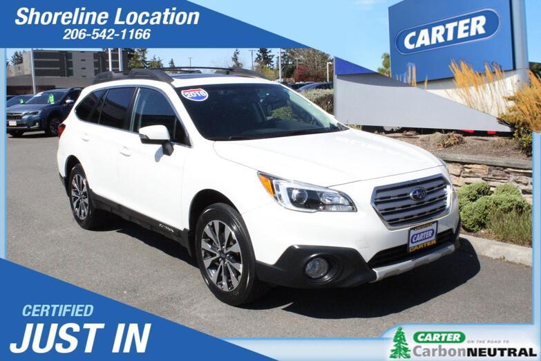 2016 Subaru Outback 2.5i Limited Seattle WA