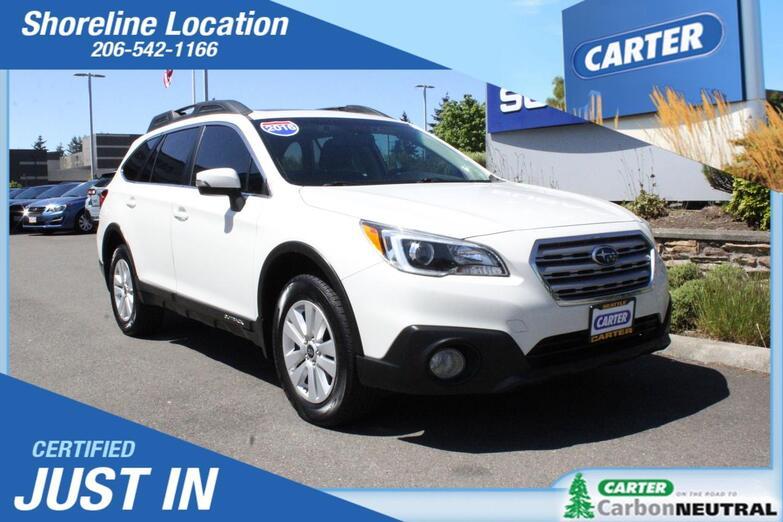 2016 Subaru Outback 2.5i Premium Seattle WA