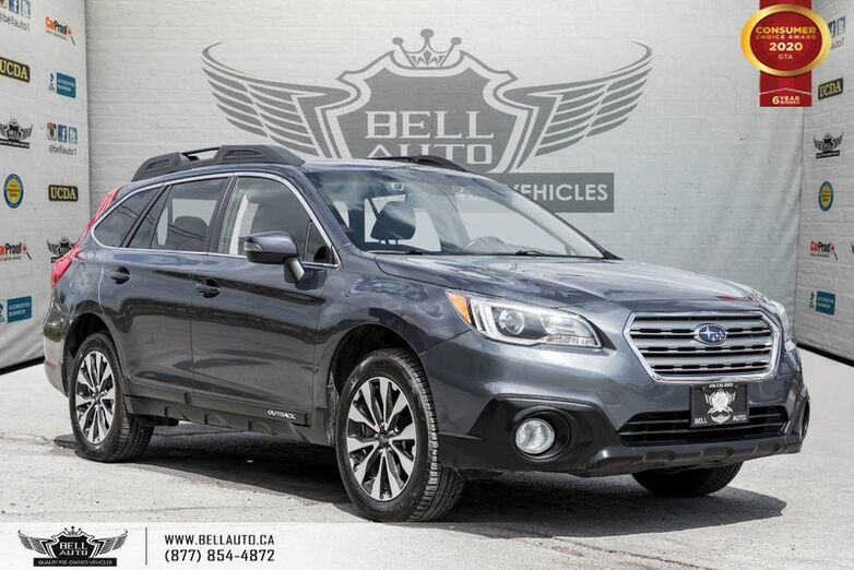 2016 Subaru Outback 2.5i w/Limited Pkg, AWD, NAVI, REAR CAM, LANE ASST, B.SPOT Toronto ON