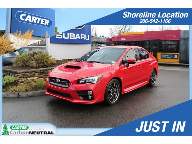 2016 Subaru WRX STI Limited Seattle WA