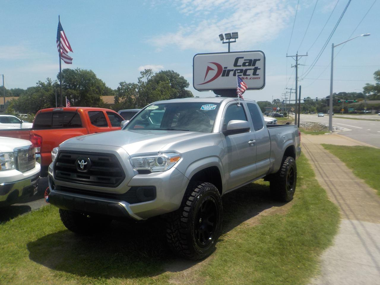 2016 Toyota Tacoma Lifted >> 2016 Toyota Tacoma Sr5 4x4 Access Cab Warranty Fuel Rims