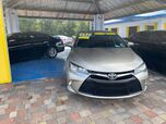 2016 TOYOTA CAMRY BLUETOOTH, BACK UP