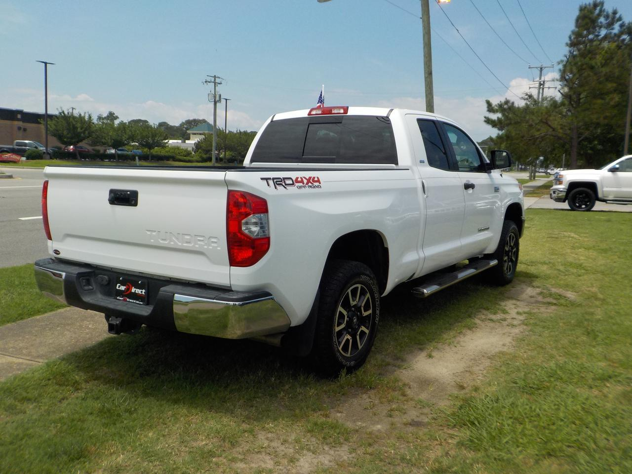 2016 TOYOTA TUNDRA SR5 TRD DOUBLE CAB 4X4, NAVIGATION, RUNNING BOARDS, BACKUP CAMERA, PARKING SENSORS, TOW, BLUETOOTH! Virginia Beach VA