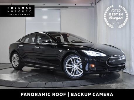 2016_Tesla_Model S_85 Pano Roof Nav Heated Seats Back-Up Cam_ Portland OR