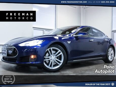 2016_Tesla_Model S_85D AWD Local Trade Pano_ Portland OR