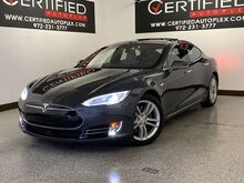 2016_Tesla_Model S_90D AWD AUTOPILOT NAVIGATION PANORAMIC ROOF REAR CAMERA LANE ASSIST SPEED A_ Carrollton TX