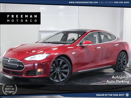 2016_Tesla_Model S_90D AWD Autopilot Auto Park Nav_ Portland OR