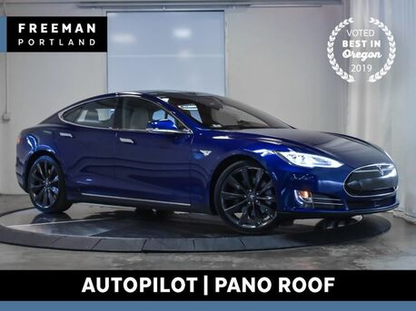 2016_Tesla_Model S_90D AWD Autopilot Pano Roof Nav Air Suspension_ Portland OR