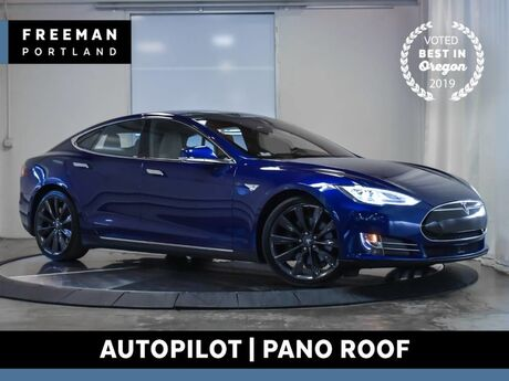 2016 Tesla Model S 90D AWD Autopilot Pano Roof Nav Air Suspension Portland OR