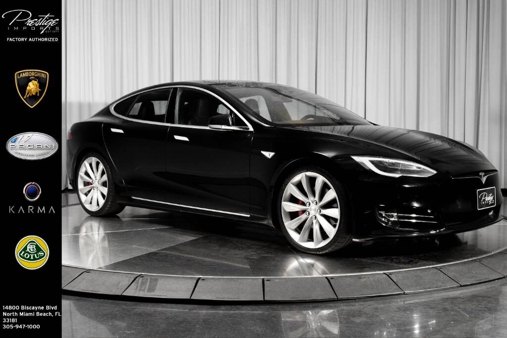 2016_Tesla_Model S_90D_ North Miami Beach FL