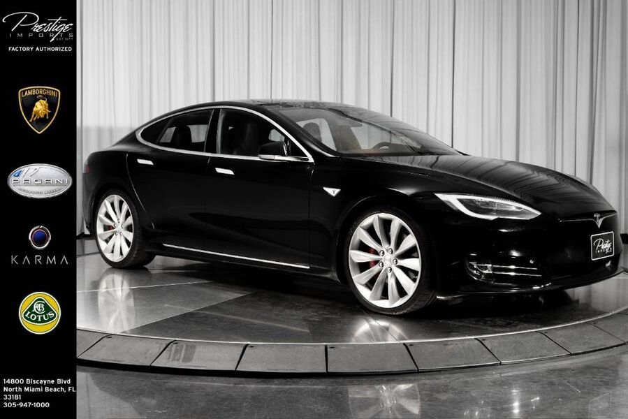 2016_Tesla_Model S_P90D_ North Miami Beach FL