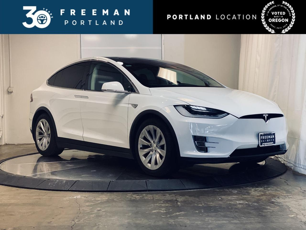 2016 Tesla Model X 75D 6-Seater AutoPilot Cooled Seats Portland OR