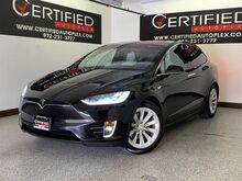 2016_Tesla_Model X_90D AWD AUTOPILOT SIX SEAT INTERIOR NAVIGATION SMART AIR SUSPENSION PANORAM_ Carrollton TX