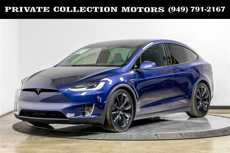 2016_Tesla_Model X_90D Autopilot 21's 7 Pass Carbon Fiber Carpool Stickers_ Costa Mesa CA